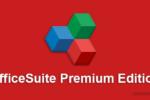 OfficeSuite Premium Edition 4.20.30736.0, Documentos, hojas de cálculo, presentaciones y archivos PDF en todos sus dispositivo