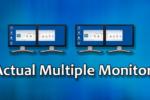Actual Multiple Monitors 8.14.1, Utilidad de software con configuraciones de múltiples monitores