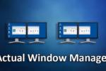 Actual Window Manager 8.14.1,, Añade nuevas e interesantes funciones a cada monitor