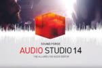 MAGIX Sound Forge Audio Studio 14.0.56, Solución para grabar, editar, restaurar y pulir sus proyectos