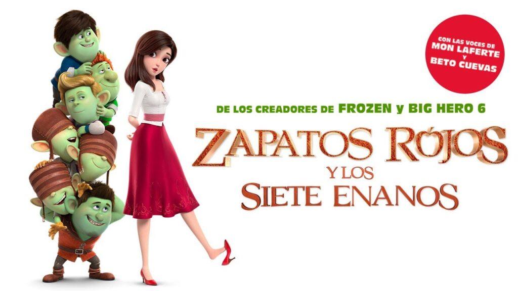 Zapatos Rojos y los Siete Enanos (2019) hd latino