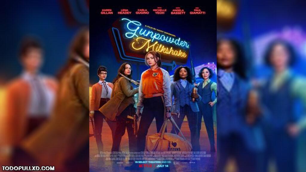 Gunpowder Milkshake (2021) HD 1080p y 720p V.O.S.E