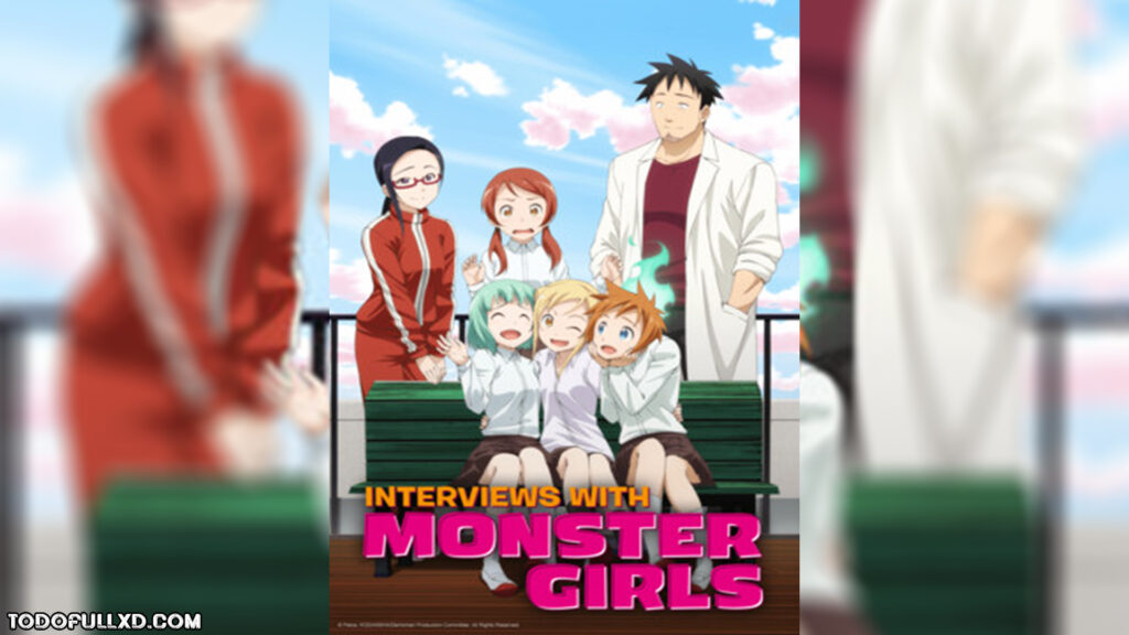 Interviews with Monster Girls Temporada 1 Completa (2017) HD 1080p Latino Dual