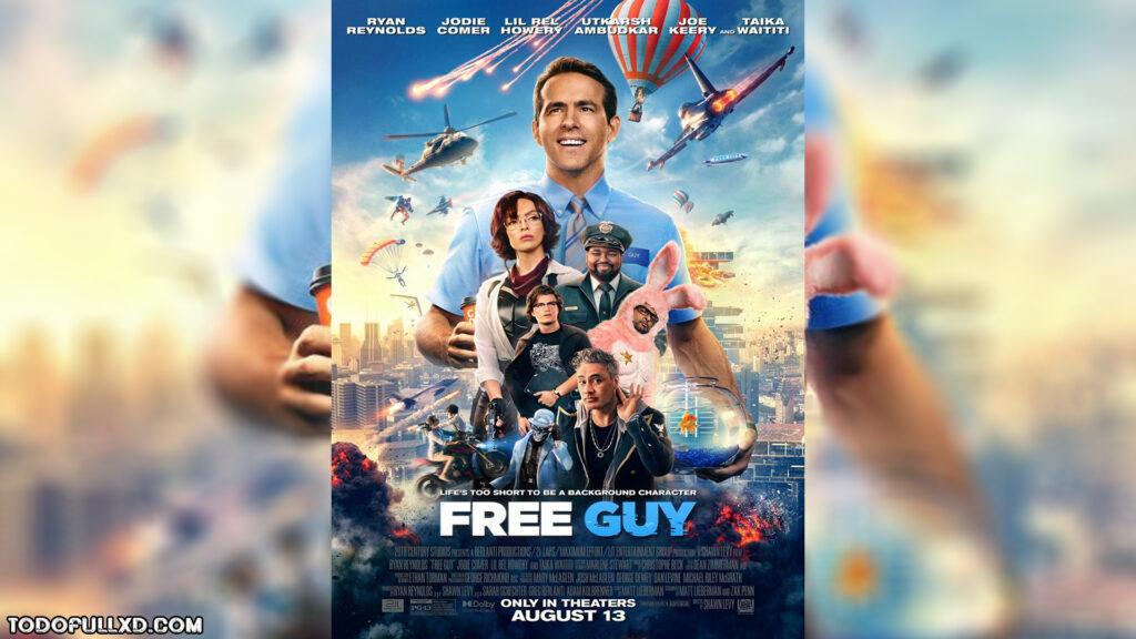 Free Guy Tomando El Control 2021 Brrip Hd 1080p Y 720p Latino 51 Dual 1024x576