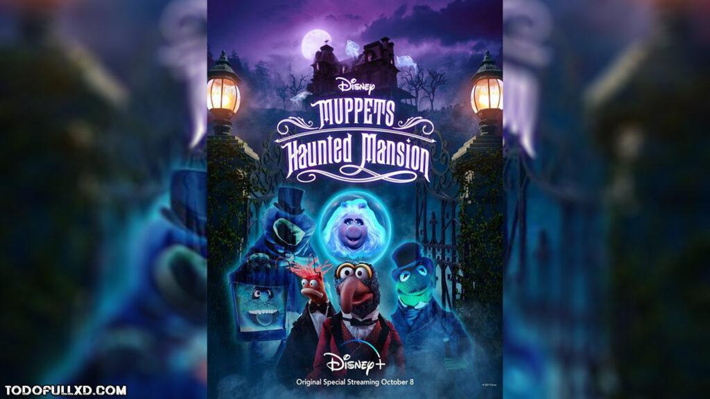 Muppets Haunted Mansion La Mansion Hechizada 2021 Hd 1080p Latino Dual 1024x576